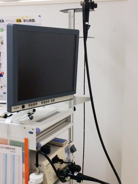 苦痛の少ない経鼻内視鏡検査